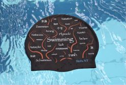 swimming cap, cool swimming cap, cool silicone swimming cap, fashionable swim cap, swim cap