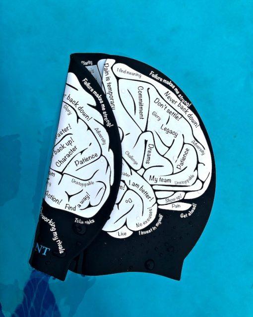 swim cap brain, swimming cap brain, swimming cap, cool swimming cap, cool silicone swimming cap, fashionable swim cap, swim cap, swimwear, cool swim cap designs