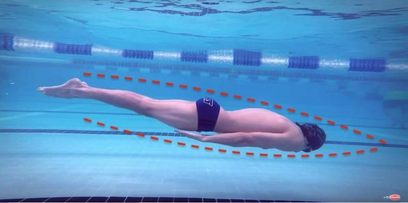 breaststroke pullout underwater,