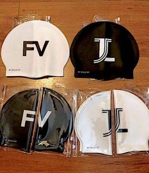 gorras de natacion personalizadas