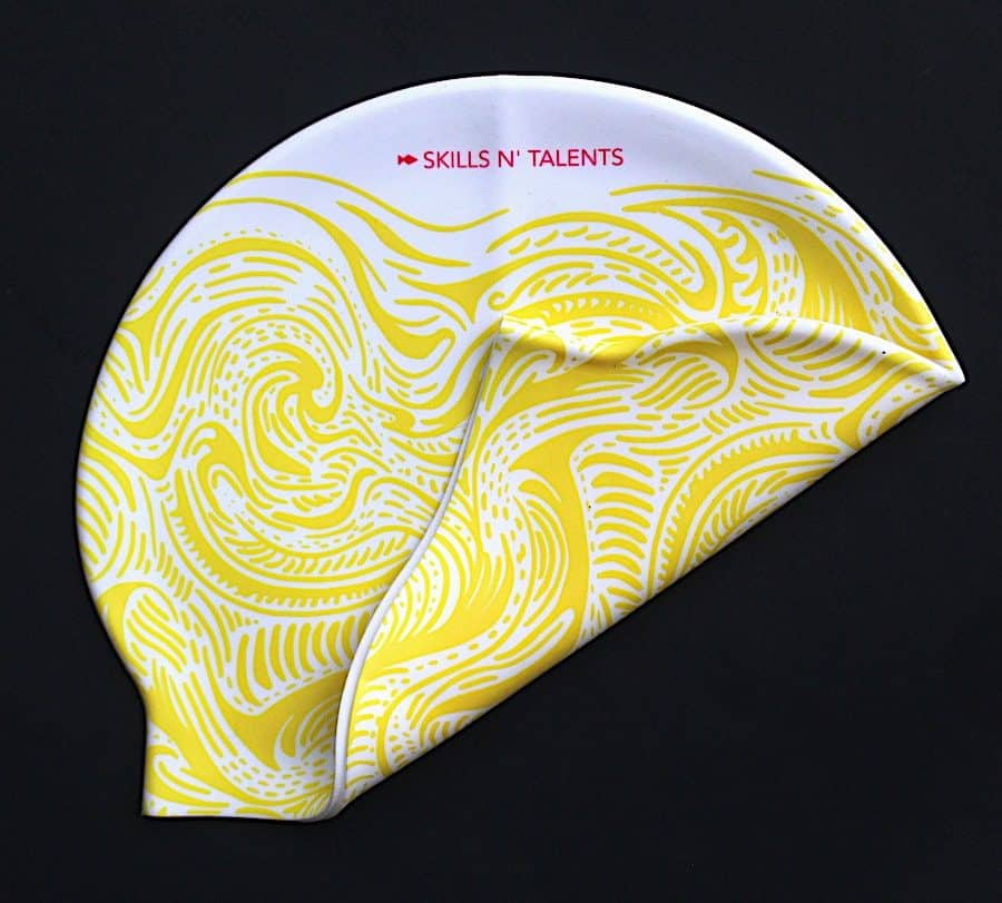 Yellow Swim Cap