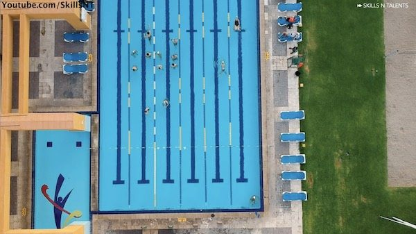 campamento de natacion mexico